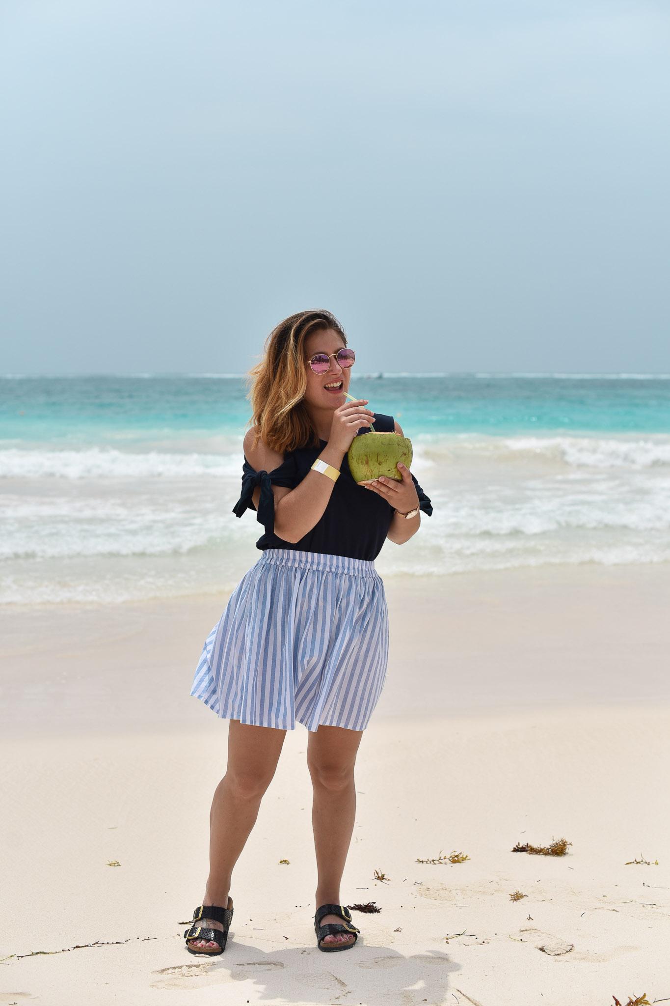 Les vacances à la plage