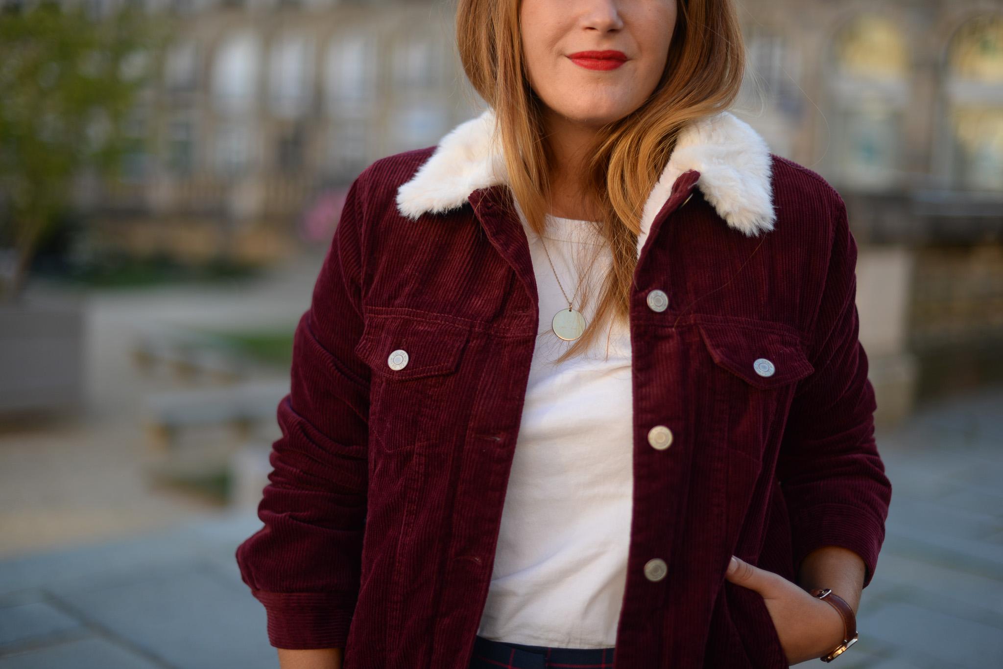 manteau velours primark