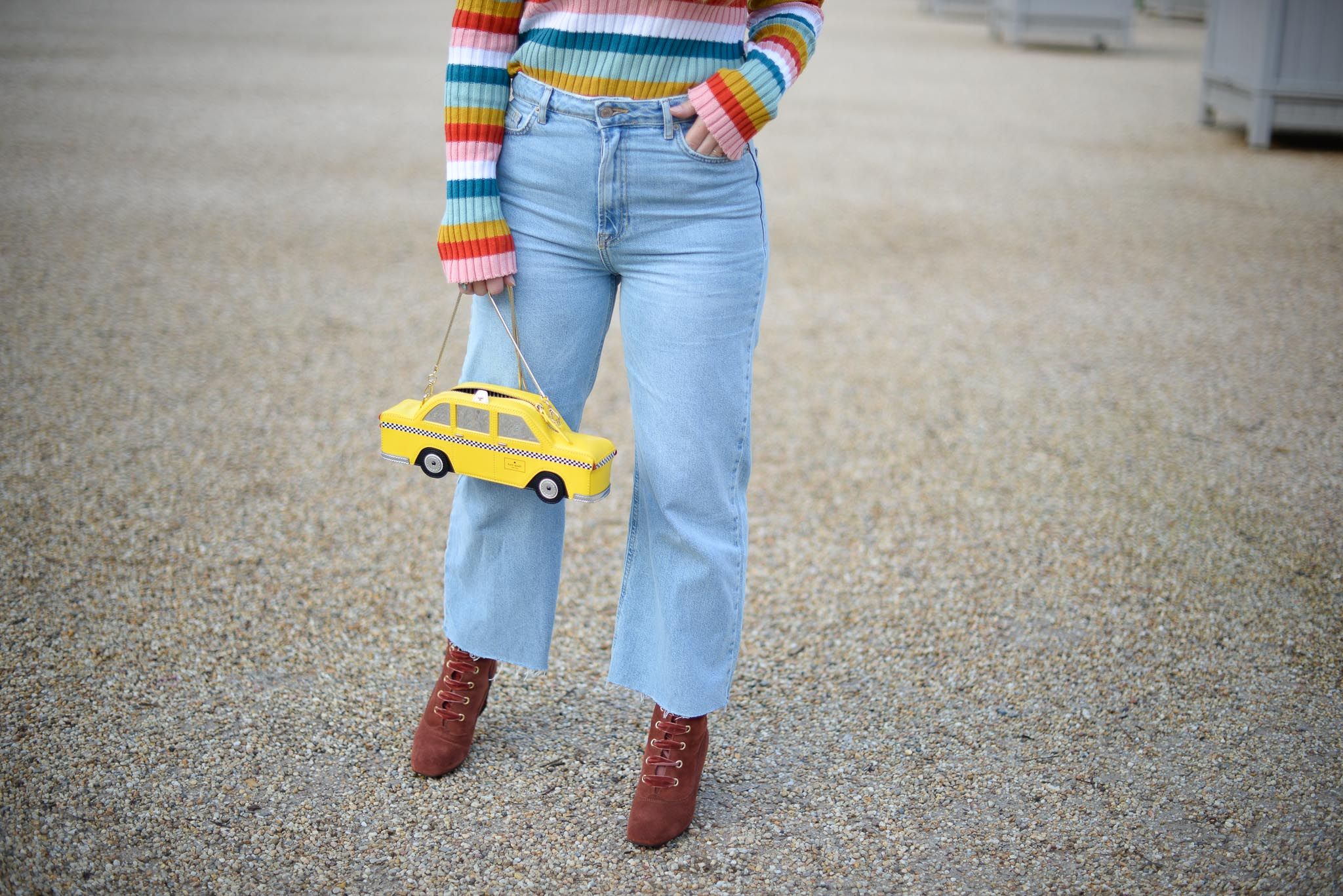 jeans flare large