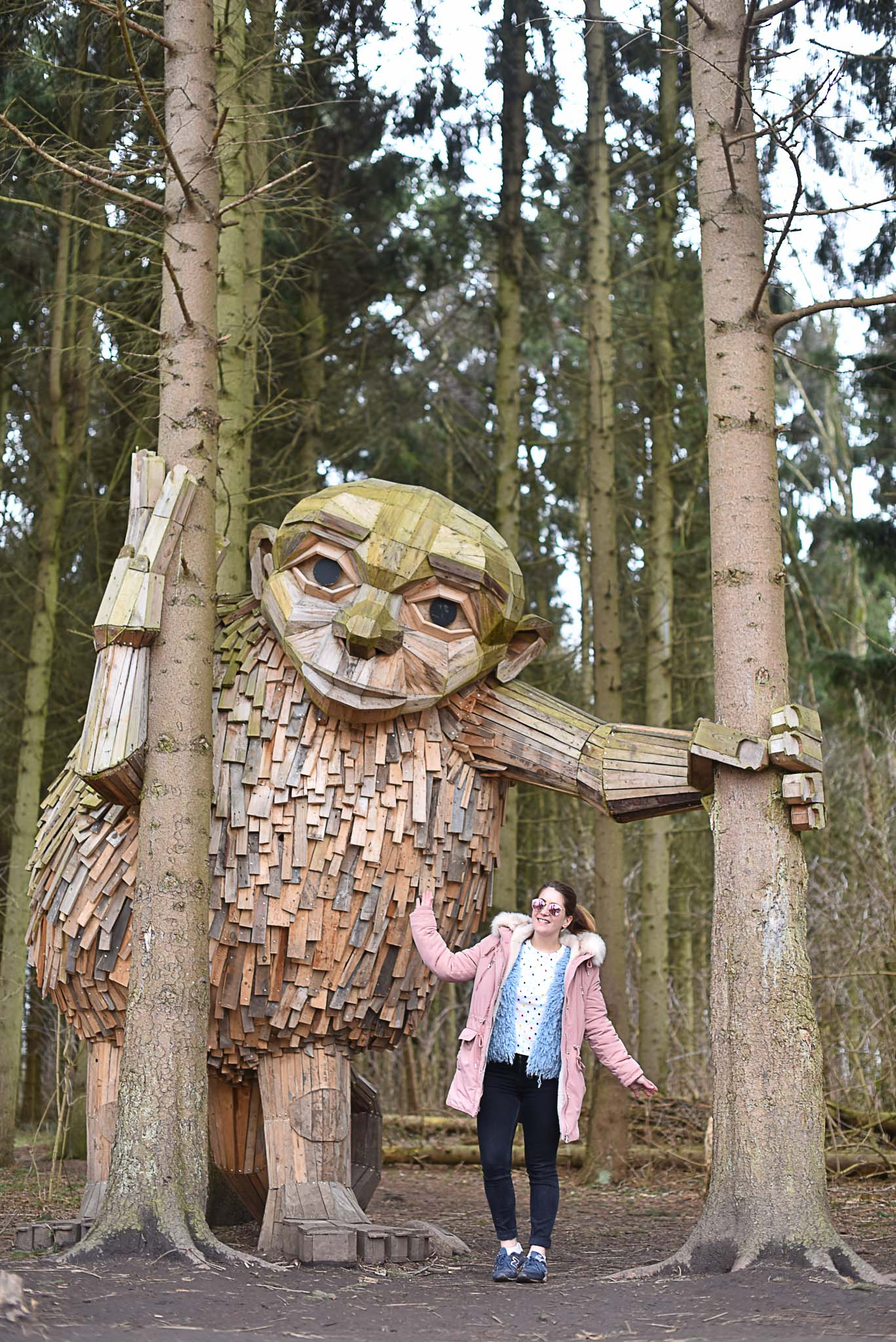 géant bois thomas dambo