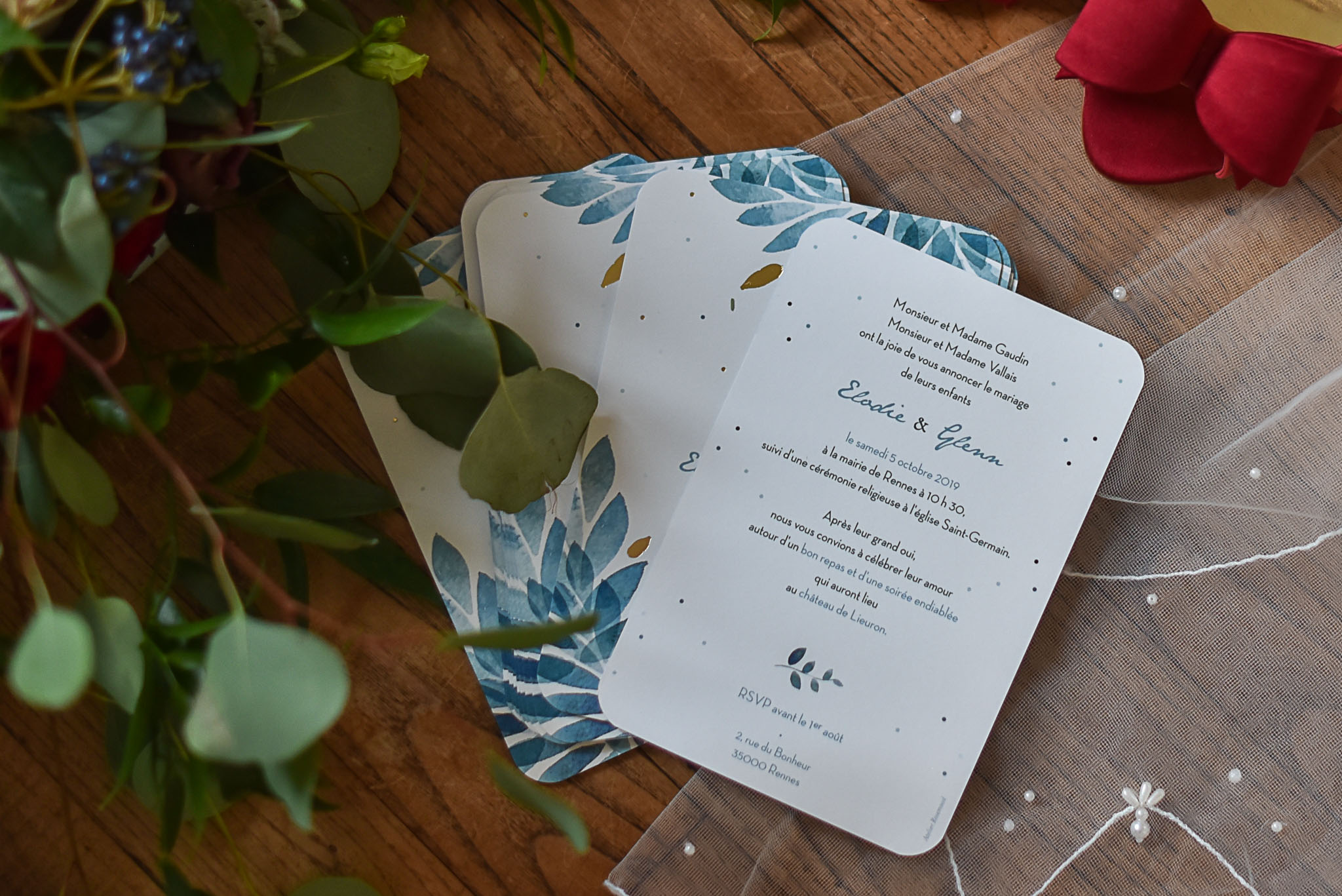 faire part mariage bretagne rosemood