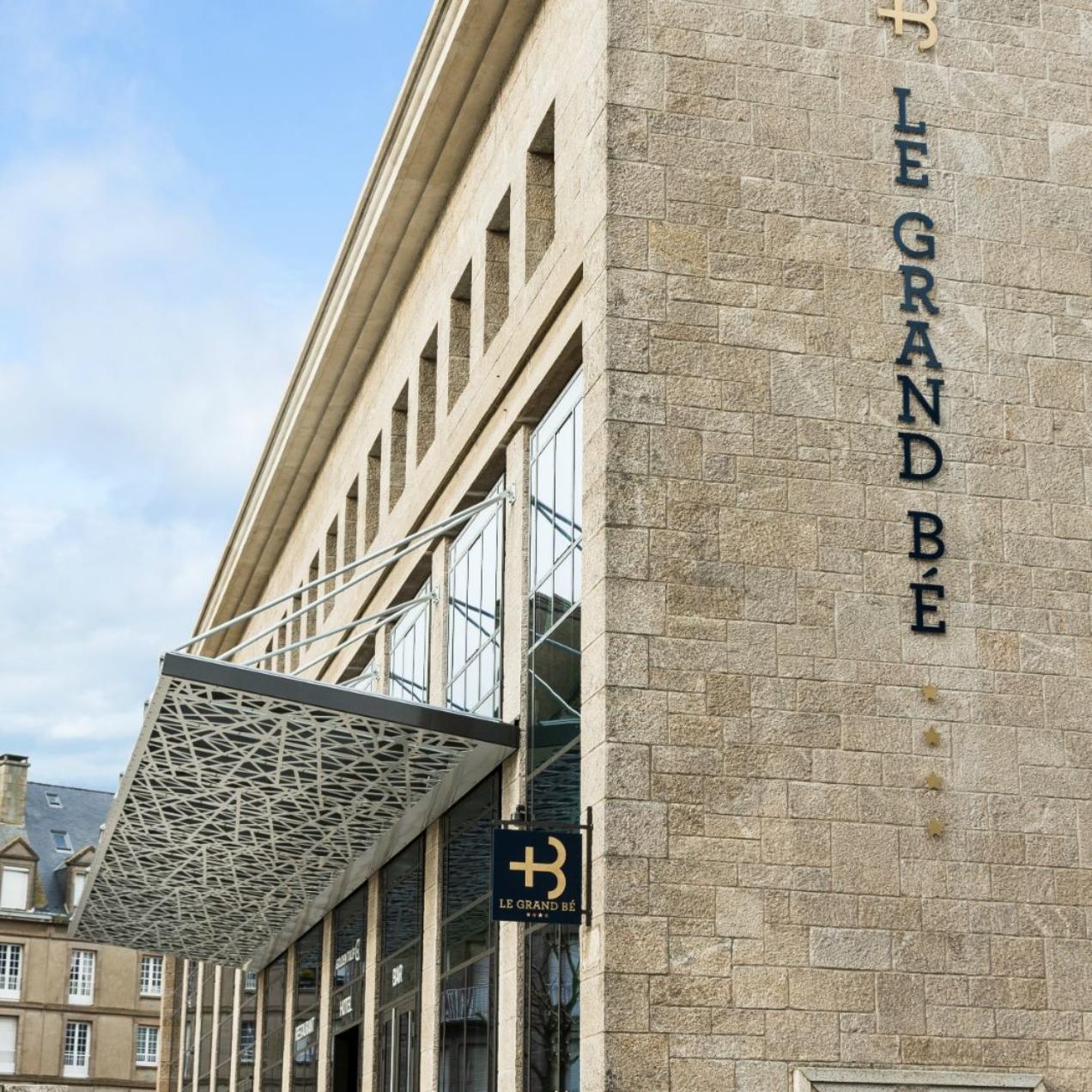 L'Hôtel le Grand Bé à Saint-Malo