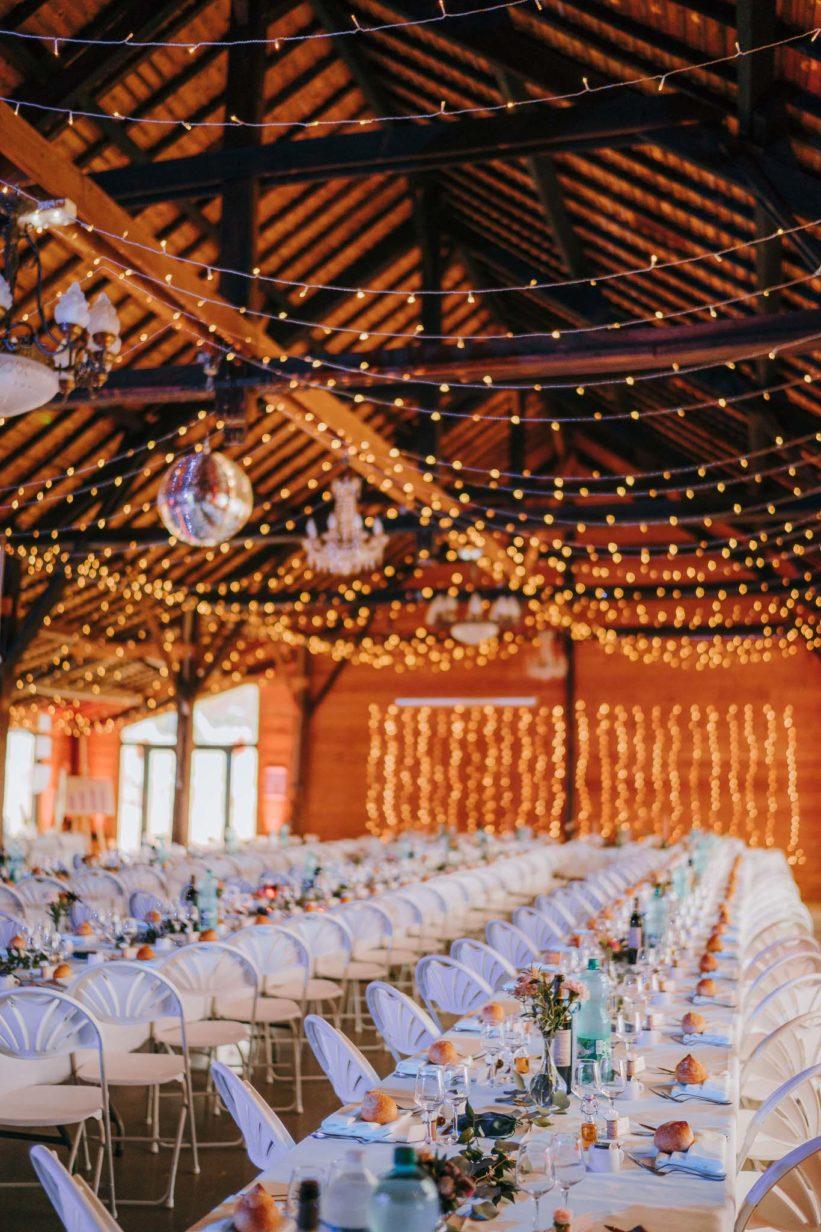 déco salle mariage