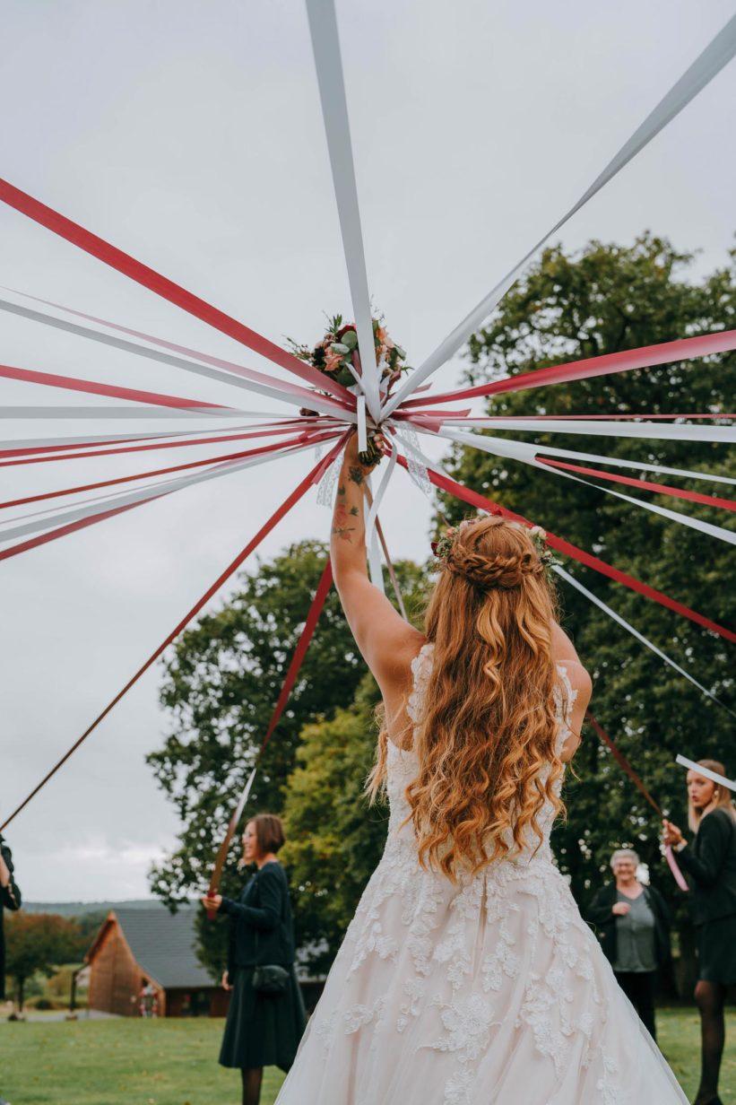 bouquet mariée ruban