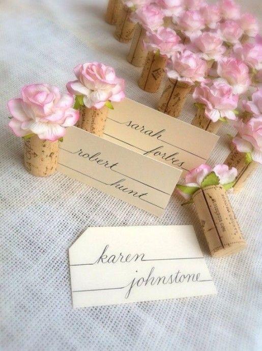 marque place idée mariage