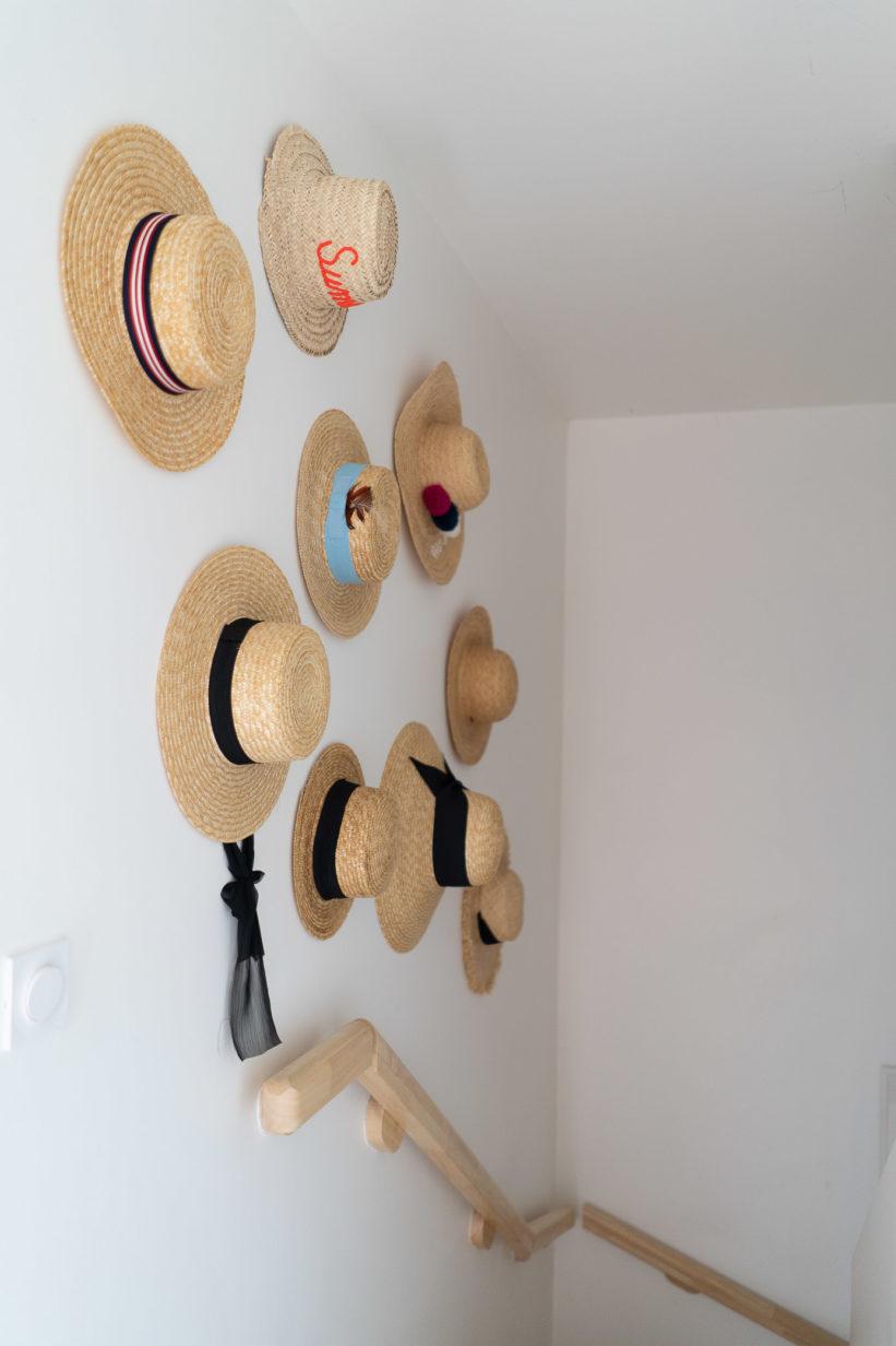idée rangement chapeau